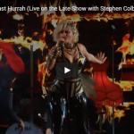 【歌】87万回再生!ベベ・レクサがザ・レイト・ショーでダンサー達を引き連れとパワー溢れるパフォーマンスにスタジオは熱くする!