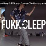 【ダンス】33万回再生!IMのJunsun Yooがラッパー エイサップ・ロッキーのFukk Sleepでクールにキメル!