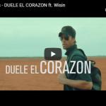 【歌】9憶万回再生!エンリケ・イグレシアスとウィシンがコラボし世界でヒットしたDUELE EL CORAZONが心打つ!