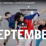 【ダンス】120万回再生!Lia Kimがアース・ウィンド・アンド・ファイアーのSEPTEMBERで爽やかダンスで心打つ!