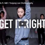 【ダンス】61万回再生!Yoojung LeeがディプロのGet It rightでビート感溢れるキレキレダンスが熱い!