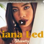 【歌】58万回再生!キアナ・レデがShawtyで圧倒的な歌唱力でアーティスト達とコラボする室内ライブ最高!