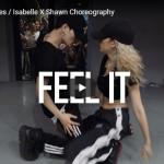 【ダンス】233万回再生!isabelleがジャクイーズのFeel Itで男女の感情溢れるダンスで釘付けにする!