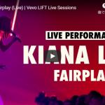 【歌】11万回再生!キアナ・レデがオーラを放ち圧倒的な歌唱力で惹きつけるFairplayのライブ動画がクール!
