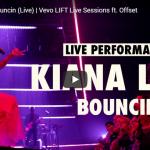 【歌】キアナ・レデがオフセットコラボしヒットした恋心をポップなリズムにのせて届けるBouncinのライブが熱い!