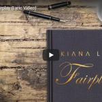 【歌】キアナ・レデがゆったりとしたR&Bのリズムに揺られながら静かに心に歌を届けるFairplay!