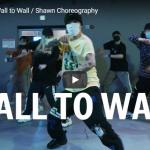 【ダンス】32万回再生!Shawnがクリス・ブラウンのWall to Wallで一体感あるユニゾンダンスを熱く踊る!