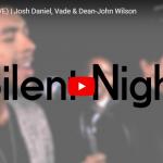 【歌】ジョシュ・ダニエルが洗練された歌声で見事な歌のハーモニーに心癒されるSilent Night!