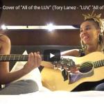 【歌】154万回再生!カミラ・カベロがトリー・レーンズのLUVを圧倒的に素敵な歌唱力でカバーする!