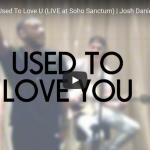 【歌】ジョシュ・ダニエルがジョン・レジェンドのUsed To Love Uを圧倒的歌唱力で歌い会場を熱くする!