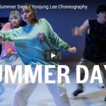 【ダンス】40万回再生!Yoojung Leeがマーティン・ギャリックスのSummer Daysで軽やかなダンスが熱!