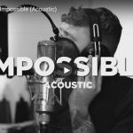 【歌】2447万回再生!ジェームズ・アーサーのImpossibleのアコースティックバージョンの動画も心打つ!