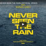 【歌】2688万回再生!トーンズ・アンド・アイの歌が優しく心を包むNEVER SEEN THE RAINが心響く!