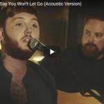 【歌】2579万回再生!ジェームズ・アーサー圧倒的な歌唱力が心に響くSay You Won't Let Go!