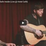 【歌】13万回再生!ジェームズ・アーサーのSafe Insideのライブが静かに惹き込まれる力強い歌!