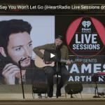 【歌】90万回再生!ジェームズ・アーサーのくSay You Won't Let Goのライブも思わず引き込む凄歌!