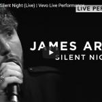 【歌】44万回再生!ジェームズ・アーサーのSilent Nightが静かに包み込み圧倒的な歌唱力で惹き付ける!