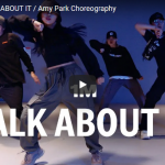 【ダンス】17万回再生!Amy ParkeがダベイビーのTALK ABOUT ITキレキレダンスでクールにキメル!
