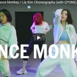 【ダンス】501万回再生!Lia Kimが振付し本物のIZ*ONEのメンバーが踊るDance Monkey!