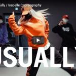 【ダンス】20万回再生!isabelleがDaniLeighのUsuallyで圧倒的センス溢れるダンスで魅了!