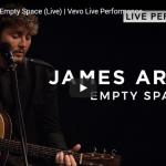 【歌】1205万回再生!ジェームズ・アーサーの失恋ソングEmpty Spaceの無観客ライブも熱い歌に心打つ!