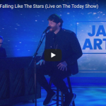 【歌】58万回再生!ジェームズ・アーサーのFalling Like The StarsのTVライブも鼓動を感じる歌が最高!