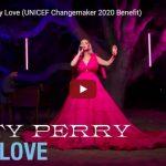 【歌】ケイティ・ペリーのOnly Loveが圧倒的なオーラを放ち魂の籠る歌が最高!