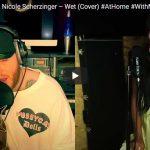 【歌】85万回再生!ジェームズ・アーサーがニコール・シャージンガーのWetをオンラインライブでカバーし心打つ!