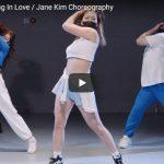 【ダンス】12万回再生!Jane KimがSakaZaのFalling In Loveで明るく元気に舞う!
